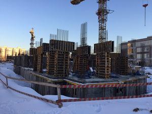 Город Долгопрудный, микрорайон «Центральный», корпус 17 (январь 2017, фото 1-3)