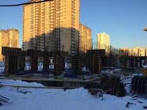 Город Долгопрудный, микрорайон «Центральный», корпус 17 (январь 2017, фото 1-4)