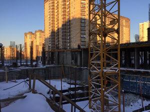Город Долгопрудный, микрорайон «Центральный», корпус 17 (январь 2017, фото 1-5)