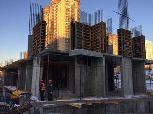 Город Долгопрудный, микрорайон «Центральный», корпус 17 (январь 2017, фото 1-6)