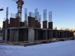 Город Долгопрудный, микрорайон «Центральный», корпус 17 (январь 2017, фото 1-7)