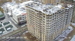 Город Долгопрудный, микрорайон «Центральный», корпус 17 (октябрь 2017, фото 11-1)