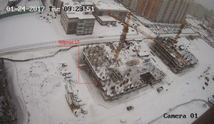 Город Долгопрудный, микрорайон «Центральный», корпус 17 (январь 2017, фото 2-1)