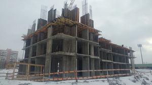 Город Долгопрудный, микрорайон «Центральный», корпус 17 (январь 2017, фото 2-2)