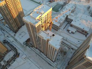 Город Долгопрудный, микрорайон «Центральный», корпус 17 (январь 2019, фото 26-2)