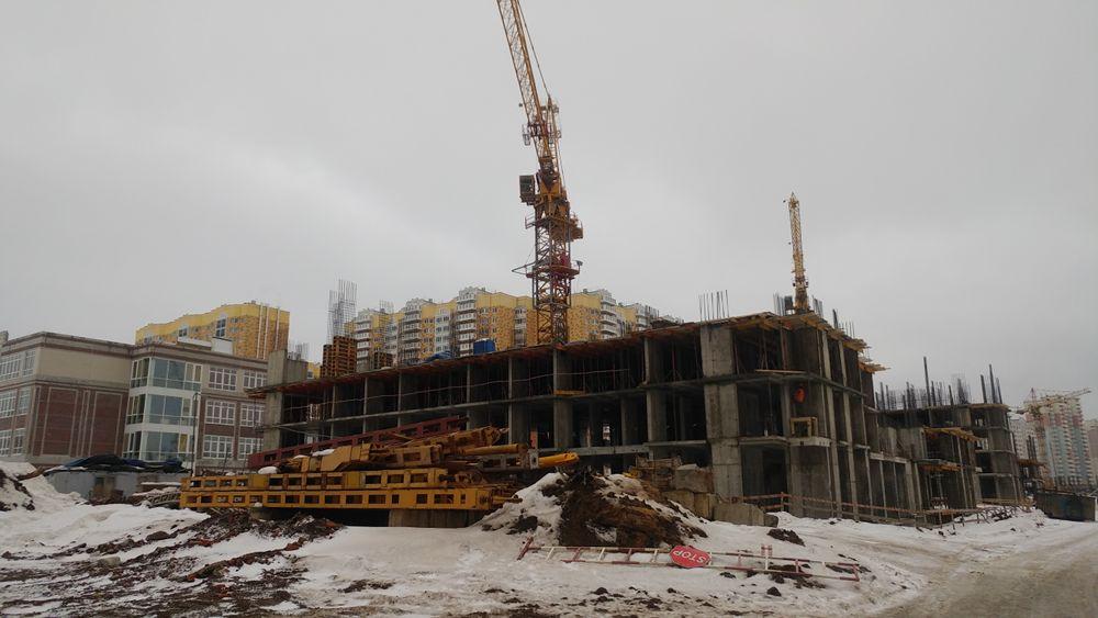 Город Долгопрудный, микрорайон «Центральный», корпус 17 (февраль 2017, фото 3-1)