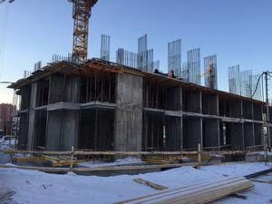 Город Долгопрудный, микрорайон «Центральный», корпус 18 (январь 2017, фото 1-3)