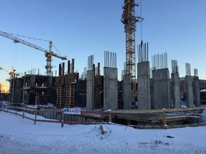 Город Долгопрудный, микрорайон «Центральный», корпус 18 (январь 2017, фото 1-6)