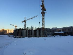 Город Долгопрудный, микрорайон «Центральный», корпус 18 (январь 2017, фото 1-7)
