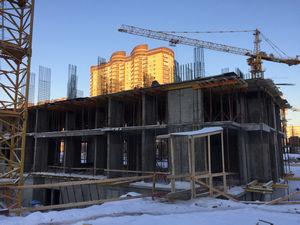 Город Долгопрудный, микрорайон «Центральный», корпус 18 (январь 2017, фото 1-8)