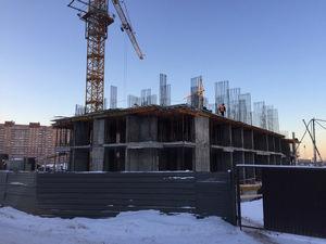 Город Долгопрудный, микрорайон «Центральный», корпус 18 (январь 2017, фото 1-9)