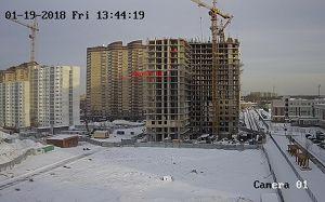 Город Долгопрудный, микрорайон «Центральный», корпус 18 (январь 2018, фото 14-1)
