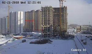 Город Долгопрудный, микрорайон «Центральный», корпус 18 (февраль 2018, фото 15-1)