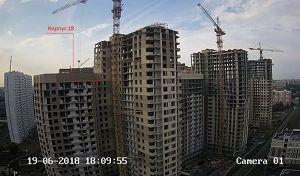 Город Долгопрудный, микрорайон «Центральный», корпус 18 (июнь 2018, фото 19-1)