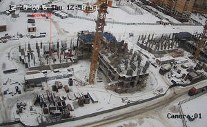 Город Долгопрудный, микрорайон «Центральный», корпус 18 (январь 2017, фото 2-1)