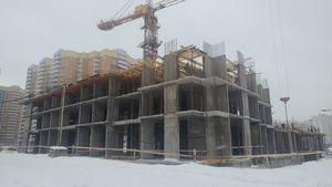 Город Долгопрудный, микрорайон «Центральный», корпус 18 (январь 2017, фото 2-2)
