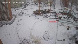 Город Долгопрудный, микрорайон «Центральный», корпус 52а (январь 2017, фото 2-1)