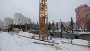 Город Долгопрудный, микрорайон «Центральный», корпус 52а (январь 2017, фото 2-2)