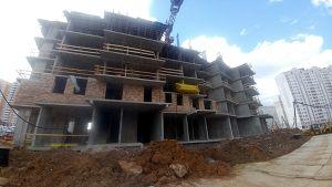Город Долгопрудный, микрорайон «Центральный», корпус 52а (апрель 2017, фото 5-2)