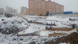 Город Долгопрудный, микрорайон «Центральный», корпус 52б (январь 2017, фото 2-2)