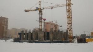 Город Долгопрудный, микрорайон «Центральный», корпус 52г (январь 2017, фото 1-1)