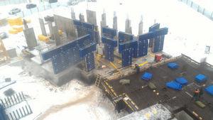 Город Долгопрудный, микрорайон «Центральный», корпус 52г (январь 2017, фото 1-3)