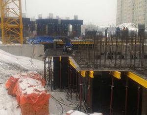 Город Долгопрудный, микрорайон «Центральный», корпус 52г (январь 2017, фото 1-4)