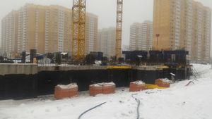 Город Долгопрудный, микрорайон «Центральный», корпус 52г (январь 2017, фото 1-5)