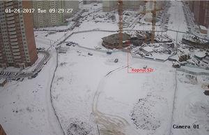 Город Долгопрудный, микрорайон «Центральный», корпус 52г (январь 2017, фото 2-1)
