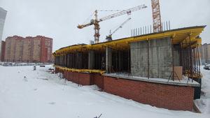 Город Долгопрудный, микрорайон «Центральный», корпус 52г (январь 2017, фото 2-2)