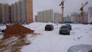 Город Долгопрудный, микрорайон «Центральный», корпус 52в (январь 2017, фото 1-2)