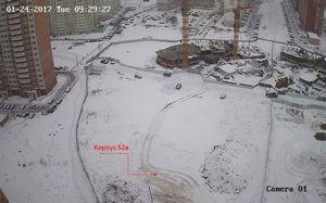Город Долгопрудный, микрорайон «Центральный», корпус 52в (январь 2017, фото 2-1)
