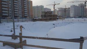 Город Долгопрудный, микрорайон «Центральный», корпус 8 (январь 2017, фото 1-2)