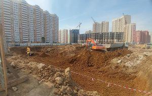 Город Долгопрудный, микрорайон «Центральный», корпус 8 (май 2018, фото 18-1)