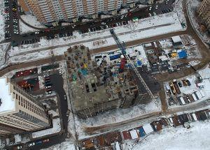 Город Долгопрудный, микрорайон «Центральный», корпус 8 (февраль 2019, фото 27-2)