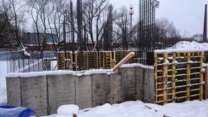 Город Долгопрудный, микрорайон «Хлебниково», корпус 8 (январь 2017, фото 1-4)