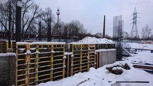 Город Долгопрудный, микрорайон «Хлебниково», корпус 8 (январь 2017, фото 1-5)