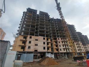 Город Долгопрудный, микрорайон «Хлебниково», корпус 8 (ноябрь 2017, фото 11-1)