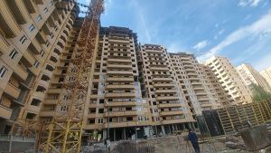 Город Долгопрудный, микрорайон «Хлебниково», корпус 8 (май 2018, фото 17-2)