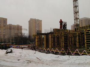 Город Долгопрудный, микрорайон «Хлебниково», корпус 8 (февраль 2017, фото 2-1)