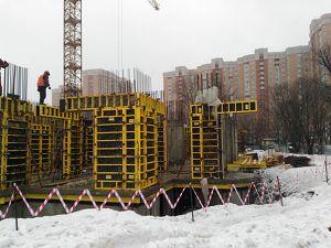 Город Долгопрудный, микрорайон «Хлебниково», корпус 8 (февраль 2017, фото 2-2)