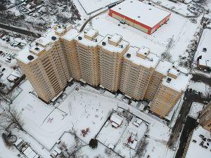 Город Долгопрудный, микрорайон «Хлебниково», корпус 8 (декабрь 2018, фото 24-2)