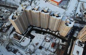 Город Долгопрудный, микрорайон «Хлебниково», корпус 8 (февраль 2019, фото 26-1)