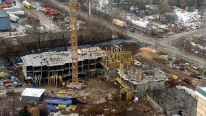 Город Долгопрудный, микрорайон «Хлебниково», корпус 8 (март 2017, фото 3-1)