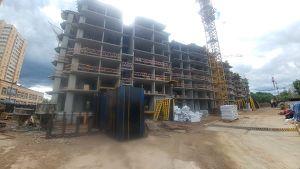 Город Долгопрудный, микрорайон «Хлебниково», корпус 8 (июнь 2017, фото 6-2)
