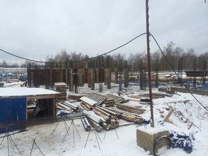 Город Долгопрудный, ЖК «Московские водники», корпус 24 (январь 2017, фото 1-1)