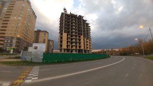 Город Долгопрудный, ЖК «Московские водники», корпус 24 (октябрь 2017, фото 11-2)