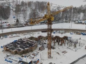Город Долгопрудный, ЖК «Московские водники», корпус 24 (январь 2017, фото 2-2)